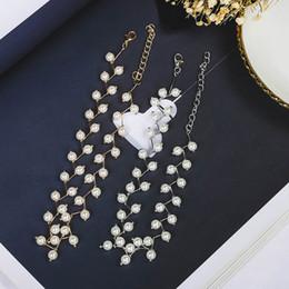 d17d4b254df7 2019 collares cortos de la perla del ahogador Moda perla Clavicular cadena  estilo simple corto mujeres