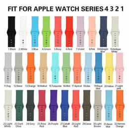 Argentina Reemplazo de doble hebilla de silicona correa de banda deportiva para Apple Watch iWatch Series 4/3/2/1 Suministro