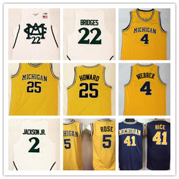 109e92ee481 Wholesale Michigan Wolverines Basketball Jersey for Resale - Group ...