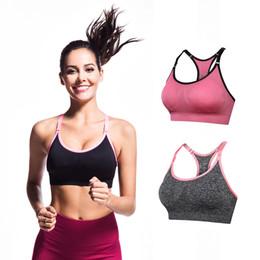 d6ce19b390896 Beauty Garden Women Sport Bra Fitness Yoga Running Vest Shockproof Quick  Dry Underwear Tops Outdoor Sport Gym Bar No Wire-rim Bras Female XL