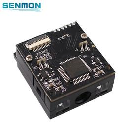 caixa de 16 bits Desconto Módulo pequeno do varredor do código de barras do motor TTL RS232 do código de barras do CCD de SM-E1005 1D USB