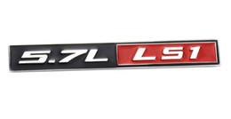 1 Pc 5.7L Litre LS1 Véritable En Aluminium Capot Moteur Badge Badge Plaque signalétique Remplacement Caisse pour Pontiac Trans Am Firebird WS6 Chevy Co ? partir de fabricateur
