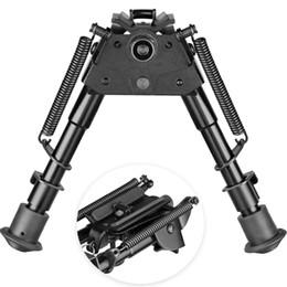 подставки для ног Скидка 2019 Новая 6-9 сошки Модель выдвижная ножка установлена фиксированная сошки для охоты Стенд 20мм Scope Mounts