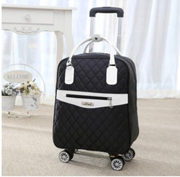 wheeled trolley backpacks Coupons - Wheeled bag for travel Women travel backpack with wheels trolley bags Oxford large capacity Rolling Luggage Suitcase Bag
