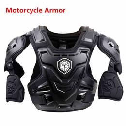 Armadura fuera de carretera online-Moto profesional armadura del cuerpo Chaqueta Moto Motorcross Racing Pecho Protector de espalda Engranaje de Off-road Anti-caída Caballero Equipo