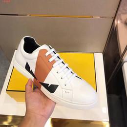 2019 pattini di pattino 2019 scarpe casual in pelle da uomo casual di alta qualità in pelle traspirante scarpe da festa scarpe casual comode skate mostro moda pattini di pattino economici