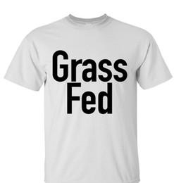 7b076f10 Novelty Vegan GRASS FED Novelty Tee T-shirt Shirt Vegan Cruelty Free Gift  Food Men Women Unisex Fashion tshirt Free Shipping