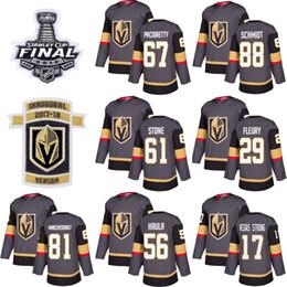 Tasse stein online-2019 Vegas Golden Knights-Trikot 61 Mark Stone 67 Max Pacioretty 29 Marc-Andre Fleury 56Erik Haula Eishockey Herren Damen Jugend Stanley Cup-Finale