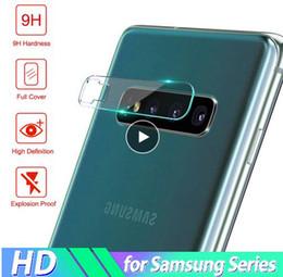 2019 protección de pantalla de cristal premium Cristal templado 2.5D para Samsung Galaxy S10 Plus S10e S10 M20 Protector de vidrio para lente de cámara protectora para Samsung S10 + S10 Plus con paquete