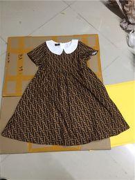 Les petites filles de bébé imprimer la lettre s'habille d'été décontractée des bébés bébés ? partir de fabricateur