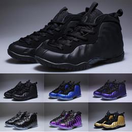sale retailer ff1ba c3fcc Niños Penny Hardaway zapatos de baloncesto para Boy Girl Designer Black  White Yellow Niños Babys Uptempo Sports Sneaker Niños pequeños regalo de  cumpleaños