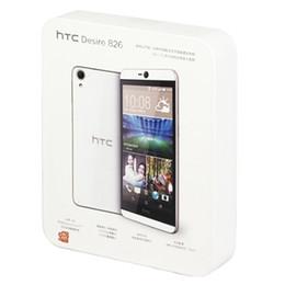 Octa core smart phones 5,5 polegadas on-line-Recondicionado original htc desire 820 4g lte dual sim 5.5 polegada Octa Núcleo 2 GB RAM ROM 16 GB Câmera 13MP Desbloqueado Android Telefone Inteligente DHL