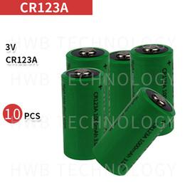 батареи cr123a Скидка лития 10X 16340 1000mah 3v CR123A 16340 16340 батареи 3.0v rcr123a аккумуляторная батарея литиевая аккумуляторная батарея