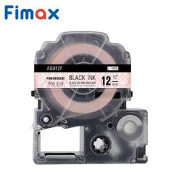 formatador hp Desconto Fimax Padrão Fitas 12mm compatível SS12KW / LC-4WBN etiquetas fita adesiva forte laminado lc4wbn rótulo fita para KingJim