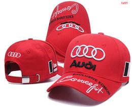 Venda quente Mercedes AUDI boné osso gorras Snapback Hat F1 Campeão Corrida Esportes AMG Automóvel Camionista Homens Ajustável Tampão de Golfe Chapéu de Sol de