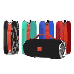 2019 coole lautsprecher für telefone X91 wasserdichte drahtlose Bluetooth-Lautsprecher tragbare Subwoofer-Lautsprecher Mini-Bluetooth-Lautsprecher im Freien HiFi-Boxen unterstützen TF-Karte FM-Radio
