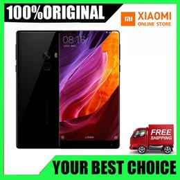 2019 celular de cor roxa Brand New Original Xiaomi Mi MIX 1 Smartphone 6.4 Polegada Tela Cheia Snapdragon 821 6 GB RAM 256 GB ROM 2040x1080 P Telefone Xiaomi