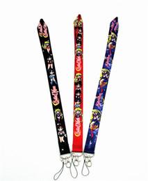 llavero de la luna del marinero Rebajas Sailor Moon lanyard key lanyards id badge holder llavero correas para teléfono móvil Envío gratuito