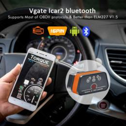 Argentina Vgate iCar2 ELM327 obd2 Escáner Bluetooth Elm 327 V2.1 obd 2 wifi icar 2 Escáner de diagnóstico automático para Android / PC / IOS lector de código supplier wifi elm327 Suministro