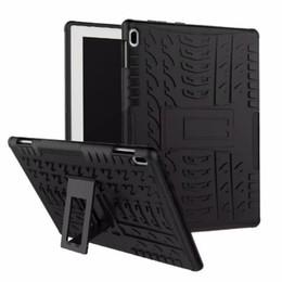 Rosa lenovo tablet fall online-Harte Rüstung Fall für Lenovo Tab 4 10 TB-X304L TB-X304F TB-X304N 10.1inch Abdeckung Heavy Duty 2 in 1 Hybrid Robustes TPU + PC Tablet