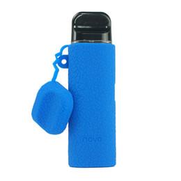 vaschetta di penna Sconti SMOK Novo Kit 2ml Mod Custodia in silicone E Cig Vape Pen Proteggi copertura per smok novo con 13 colori