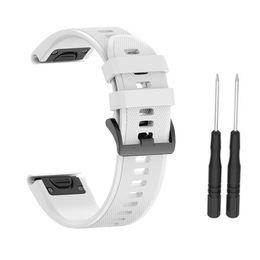 Substituição suave Pulseira Silicone Strap pulseira para fenix5 / 5plus / Garmin Forerunner 935 de