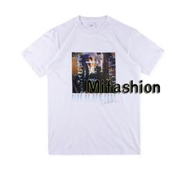 Re di strada online-19ss USA Summer Box di alta qualità Logo King Of New York Tee Skateboard T shirt da uomo di design T-shirt casual di lusso da donna