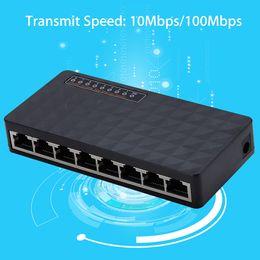 Canada Commutateur réseau Ethernet à 8 ports Indicateurs DEL rapides 10/100 Mbps Adaptateur Mini Exquisite Offre