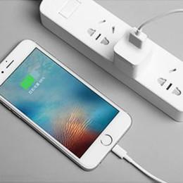 2019 осветительные шнуры для сотовых телефонов 100 шт. С розничной коробке 1 м 3FT OD 3.0 мм оригинал Qulaity USB кабель синхронизации данных зарядное устройство для ipad mini Air iPhone х макс.