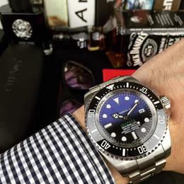 Reloj para hombre Cerámica profunda Bisel Zafiro Acero inoxidable con cierre Automático Relojes mecánicos para hombre desde fabricantes