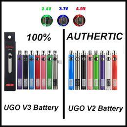 kangertech ego kit Rabatt 100% ursprünglicher EcPow UGO V2 V3 III Vaporizer Batterie vorheizen Variable Voltage 510 Gewinde EVOD EGO Micro-USB-Ladegerät Vape Pen