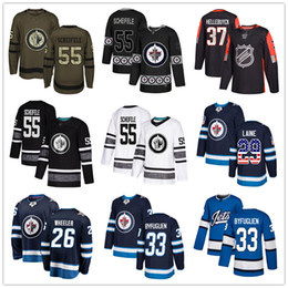 jets kundenspezifisches jersey Rabatt Benutzerdefinierte Winnipeg Jets Jersey Laine Hellebuyck Mark Scheifele Dustin Byfuglien Nikolaj Ehlers Perreault Wheeler USA Mode Hockey Jerseys