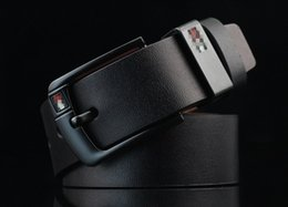 Neue Ankunfts-Designer Pin Buckle PU Ledergürtel für Männer Art und Weise Marken-PU-Leder Herren Gürtel männlich ceinture von Fabrikanten