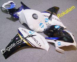 Wholesale CBR1000RR Fireblade Kit de carenado para Honda CBR1000 RR Konica Minolta motocicleta carenados de carrocería moldeo por inyección