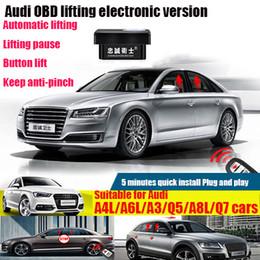 Aplicável Para Audi A4L / A6L / A3 / Q5 / A8L / Q7 Carro OBD Automático Janela Levantador Modificação de Atualização de Janela de