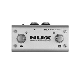 Nux de effet de pédale en Ligne-Dual Footswitch NUX NMP-2 pour modules de clavier et pédales à effets