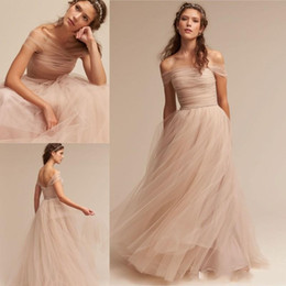 Bohemian Nedime Örgün Elbise ucuz gelinlik modelleri elbiseler de demoiselle d'honneur Abendkleider kokteyl parti elbiseler Kapalı Omuz nereden