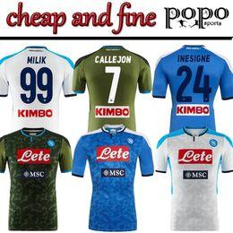 boas casas Desconto 1920 home away 3rd Serie A Nápoles Napoli camisas de futebol em casa Napoli camisas de futebol Camisa Barato multa HAMSIK L.INSIGNE PLAYER Camisa
