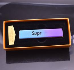 Metal USB Şarj Edilebilir Çakmak Elektronik Sigara Çakmak Rüzgar Geçirmez Alevsiz sigara çakmak moda nereden ruj seç tedarikçiler