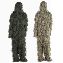 2019 vêtements en tissu multifonction Livraison gratuite chaude Camouflage Chasse Ghillie Costume Secrète Chasse Aérienne Tir Vêtements Sniper Suits Camouflage Vêtements