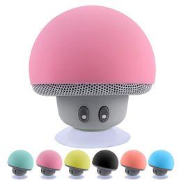 Lechón del altavoz del iphone online-Seta linda Mini adornos inalámbrico Bluetooth Altavoz Sucker Cup Receptor de audio estéreo Subwoofer USB para Android IOS PC E205