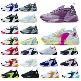 2020 scarpe sportive di lifestyle Delle donne degli uomini Zoom 2K Lifestyle scarpe da corsa degli anni '90 ZM 2000 stile Trainer Designer esterna Sneakers m2K scarpe sportive comode 36-45 sconti scarpe sportive di lifestyle