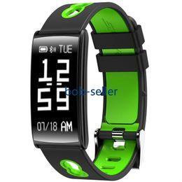 Mela di nuovo anno online-New Year Classic HM68 Smart Band Pressione sanguigna Cardiofrequenzimetro Fitness Tracker Bracciale Smart Watch Impermeabile IP68 Sport