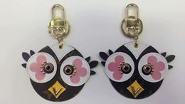 Anéis chaves da coruja on-line-Nova Marca Coruja Chaveiro Chaveiro Chaveiro Titular Anel de Luxo Porte Clef Presente Das Mulheres Dos Homens chaveiros Souvenirs chaveiro