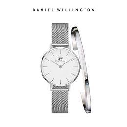 Даниэль Веллингтон Мода Женщины Кварцевые Часы стальной ремешок 32 ММ Часы и Браслеты Ювелирные Изделия Мода Леди Элегантные Часы с оригинальной коробке cheap jewelry box steel watch от Поставщики часы из нержавеющей стали