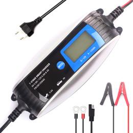 Chargeur de batterie de voiture 12V 0.8A / 4A 6V 0.8A 7 étapes AGM GEL WET EFB LCD Intelligent Chargeur de batterie pour voiture de moto jouet ? partir de fabricateur