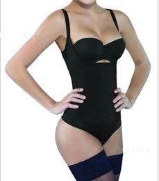latex körperformer Rabatt TOP SALE Taillentrainer Bodysuit Latex Abnehmen Unterwäsche Korsetts Hot Shaper Body Shaper Shapewear Unterwäsche Body Control Pants CZ147