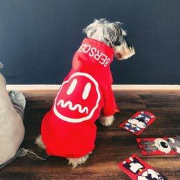 hip hop clothing sale Coupons - Hot Sale Dog Hoodies Brand Pet Apparel Hip Hop Teddy Puppy Hoodies Dog Warm Winter Autumn Outwears Pet Casual Sweartshirts Thick Clothes