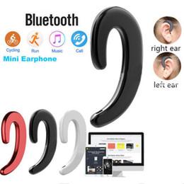 Y-12 Беспроводные Bluetooth-наушники наушники с костной проводимостью Беспроводная стереогарнитура Нет беруши Bluetooth-наушники с микрофоном от