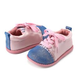 2019 оптовые платья для девочек Tipsietoes  2018 New Children Hoop-and-loop straps Girls Shoes Breathable Casual Sneakers Kids Footwear Free Ship